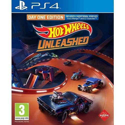 Hot Wheels Unleashed PS4 Game